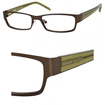 fcd28ffddf Image Unavailable. Image not available for. Color  Hugo Boss Prescription Eyeglasses  Boss 0036 U