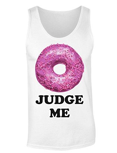 Donut Judge Me Do Not T-shirt senza maniche per Donne Shirt