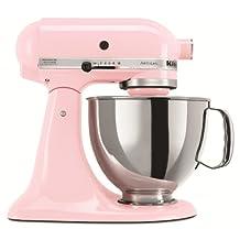 KitchenAid KSM150PSCPK Artisan 5-Quart Stand Mixer, Pink