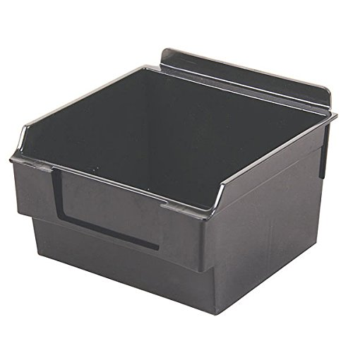 Retail Black Shelfbox Style 100 measures 5.70''d x 5.51''w x 3.74''h by Shelfbox