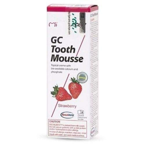 GC Mousse 40g Tube  1 Pcs  Strawberry Toothpaste