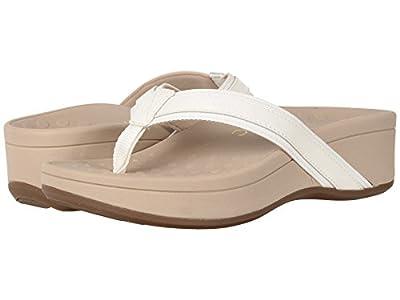 Vionic Women's High Tide Platform Sandal (11 B(M) US, White/White)