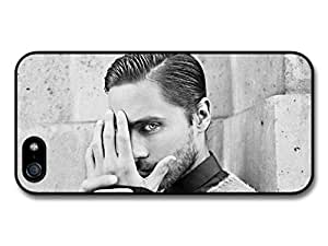 Jared Leto Black & White Portrait Eye case for iPhone 5 5S
