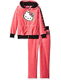 Hello Kitty girls Active Set With Ears on Hoodie and Pant