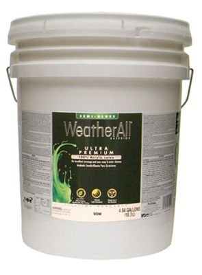 true-value-sgw9-5g-weatherall-white-semi-gloss-exterior-house-trim-paint-5-gallon