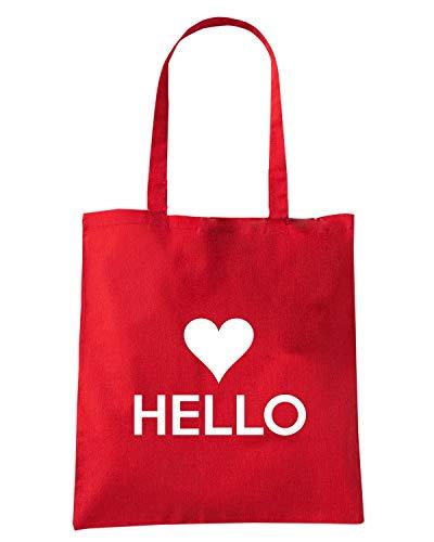 Speed Rossa HELLO Shopper Borsa Shirt TKC3852 8TqrB8wnx