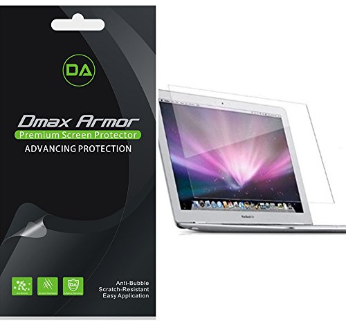 3-Pack-Dmax-Armor-Apple-MacBook-Air-13-Inch-Screen-Protector-High-Definition-Clear-Shield-Lifetime-Replacements-Warranty-Retail-Packaging