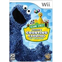 Warner Home Video-Games Sesame Street Cookies Count Carnival Kids Vg Wii Platform (Renewed)