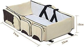 Amazon.com : Cot Crib Portable Multi-Function Travel Bed ...