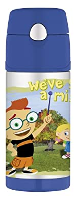 Thermos Funtainer Straw Bottle Little Einsteins 12 Ounce from Thermos