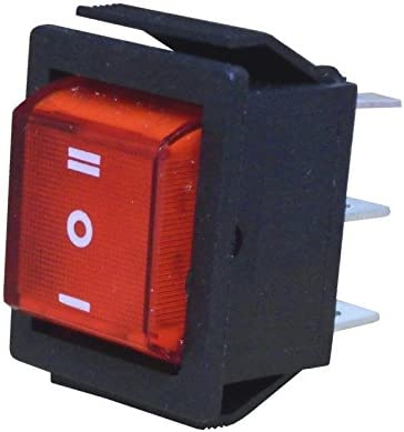 Wittkoware Wippenschalter 30x22mm 2 Polig Ein Aus Ein 15a 250v Rot I O Ii Baumarkt