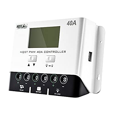 HQST PWM Negative-Ground Solar Charge Controller