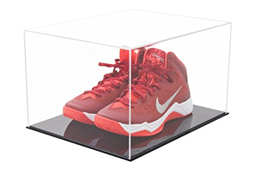 (Deluxe Acrylic Clear Basketball Shoe Display Case with Black Acrylic Base (A025-DS))