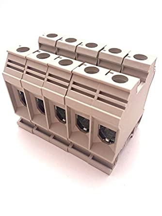 Dinkle DK35N DIN Rail Terminal Block Screw Type UL 600V 150A