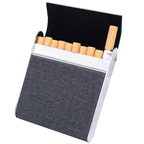 (Watruer Cigarette Holder Case Box Pocket Carrying Case for Hold 20 Regular Size for Men Women -)