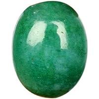 Alta qualità verde smeraldo 9.80ct cabochon ovale sfaccettato verde smeraldo, verde smeraldo naturale smeraldo pietra