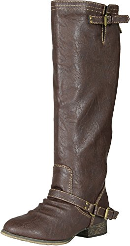 Breckelles Women Outlaw-81 Boots,Premium Light Brown+,6