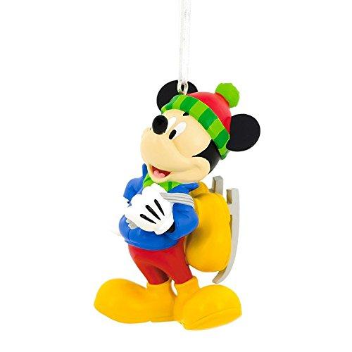 2017 Mickey Mouse Ice Skating Hallmark Ornament (Sale Christmas Finial Ornament)