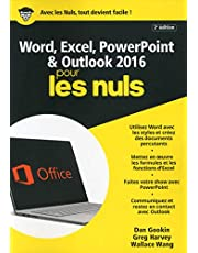 WORD & EXCEL POWERPOINT & OUTLOOK 2016 MEGAPOCHE POUR LES NULS 2ED