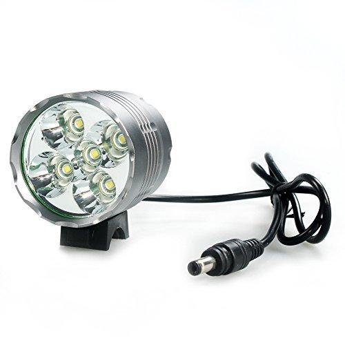 150 opinioni per LEDemain 5 LED T6 CREE XM-L Torcia da testa Lampada frontale Bici Faro, 7000LM,