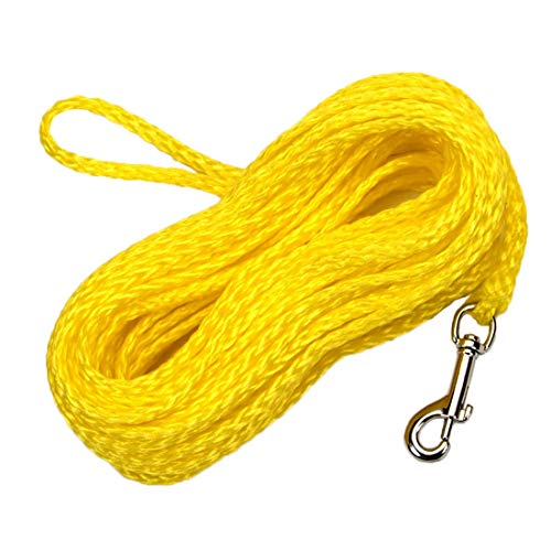 Coastal Pet R3850 G YEL50 Poly Check Cord, 1/4 by 50-Feet, Yellow