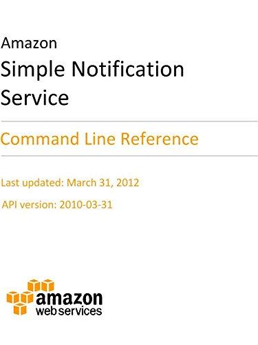 Amazon com: Amazon Simple Notification Service: CLI Reference eBook