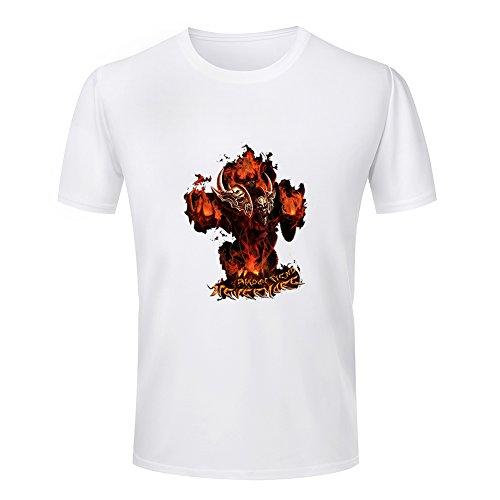 Warcraft Dota Shadow fiend Multiplayer Online Battle Arena Game peripheral T-shirt XXXX-Large (Warcraft Arena)