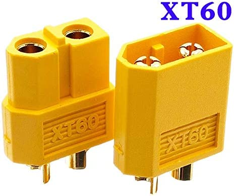 2Pair XT60 Male /& Female Bullet Connectors Plugs For RC LiPo Battery