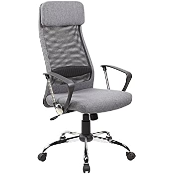 ergonomic mesh office desk chair with adjustable arms. anji high back ergonomic mesh office chair with padded fabric ajustable seat, tilt tension, desk adjustable arms l