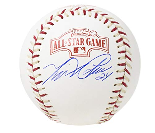 Miguel Cabrera Tigers Signed 04' All-Star Game MLB Baseball w/Free Ball Cube JSA ()