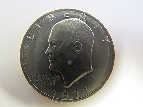 Dollar Eisenhower 1971 - 1971 D Eisenhower Dollar Choice Uncirculated