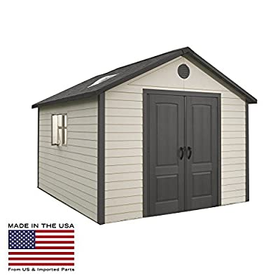 Lifetime 11 x 13.5 ft. Outdoor Storage Shed 6415 from Lifetime Products