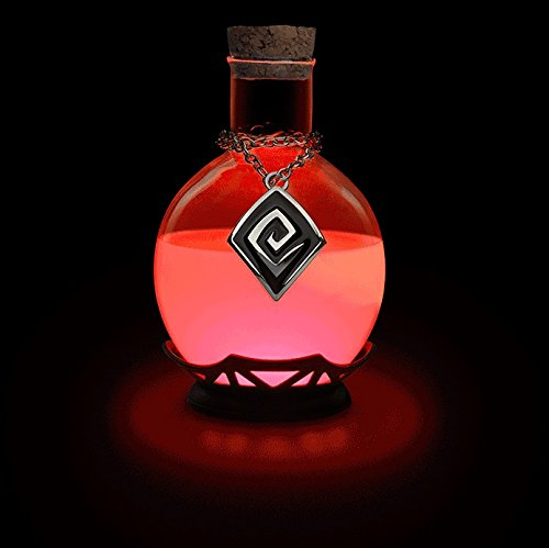 Electric Led Potion Desk Lamp Changing Color Tap To