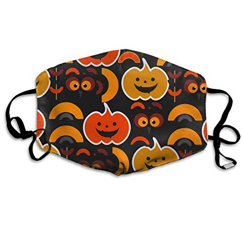FFR-EHC My Funny and Cute Halloween Washable Reusable Masks Respirator Comfy Protective Breath Healthy Safety Warm Windpro of -