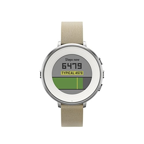 Pebble Time Round 14mm Smartwatch for Apple/Android Devices - Silver/Stone by Pebble Technology Corp (Image #7)