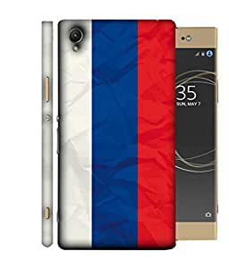 ColorKing Football Russia 08 Multi Color shell case cover for Sony Xperia XA1 Plus