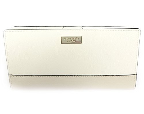 Kate Spade Stacy Laurel Way Leather Wallet (Cement/pmc)