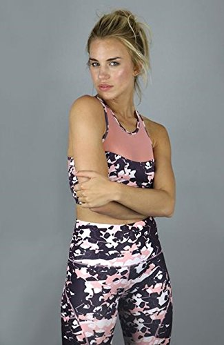 mujeres Acai Purple Top Acai para Crop Activewear Hqq1gxv