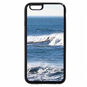 iPhone 6S / iPhone 6 Case (Black) Big Waves on the California Coastal