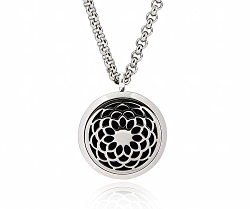 Sunflower Aromatherapy Essential Diffuser Necklace product image