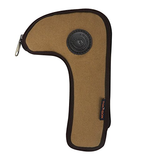 Tourbon Hunting Shooting Canvas Rifle Bolt Holder Carrier Pouch Case Wallet Cover