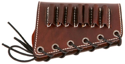Diamond D Leather Rifle Butt Cuff- 45-70-  Brown