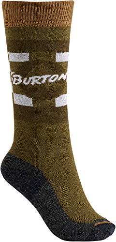 Burton Youth Emblem Socks, Olive Branch, (Blend Skis)
