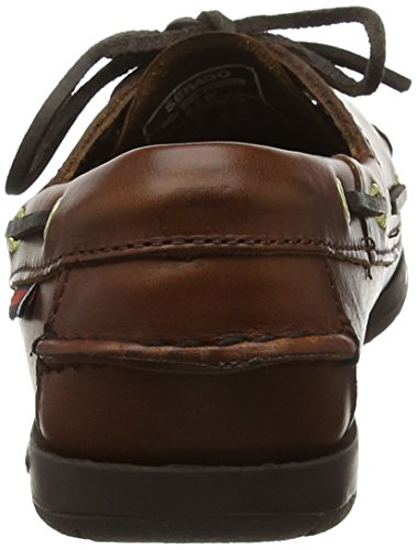 Brown Women Oiled Sebago brown Victory Wax Mocassins q8wtOB6