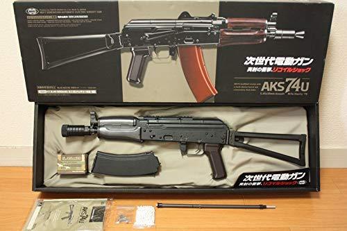 東京マルイ 次世代電動ガン AKS74U クリンコフ カスタム(検)AKM AK47 AK74MN AK47S AK102 AK104 AK105 PMC ロシア B07QH51TXD