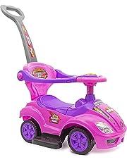 سيارة ركوب للاطفال الصغار تعمل بالدفع من بيبي بلس- موديل جديد، العاب سيارات للصغار - مناسبة للاطفال الاولاد والبنات (1 - 5 سنوات)