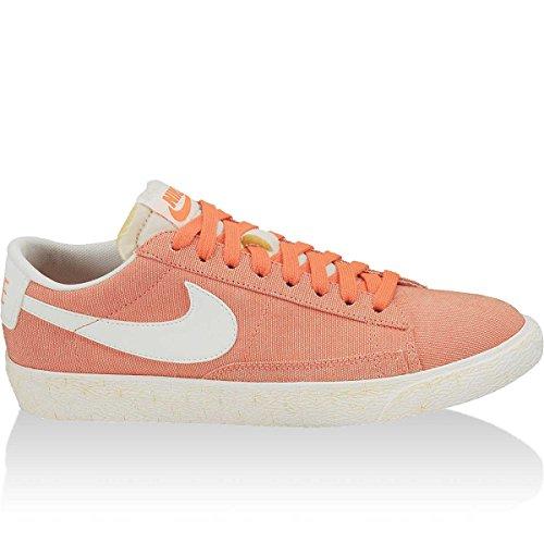 Nike Wmns Blazer Low Canvas, Crimson, Größe 36 1/2