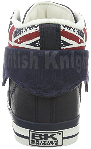 Blu Knights navy 04 Jack blau Uomo Alto Collo British A union fxXAwdAq0