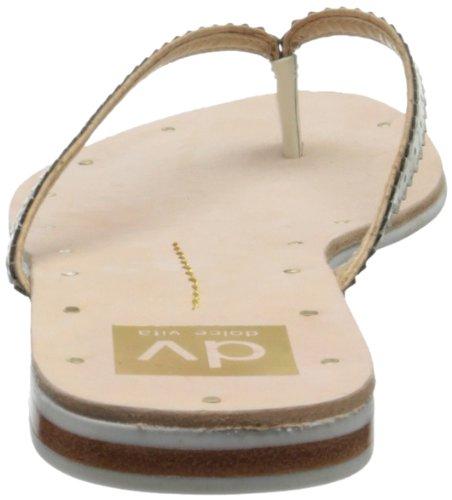 Dv Ved Dolce Vita Kvinners Orie Flip-flop Ben Patent Lær