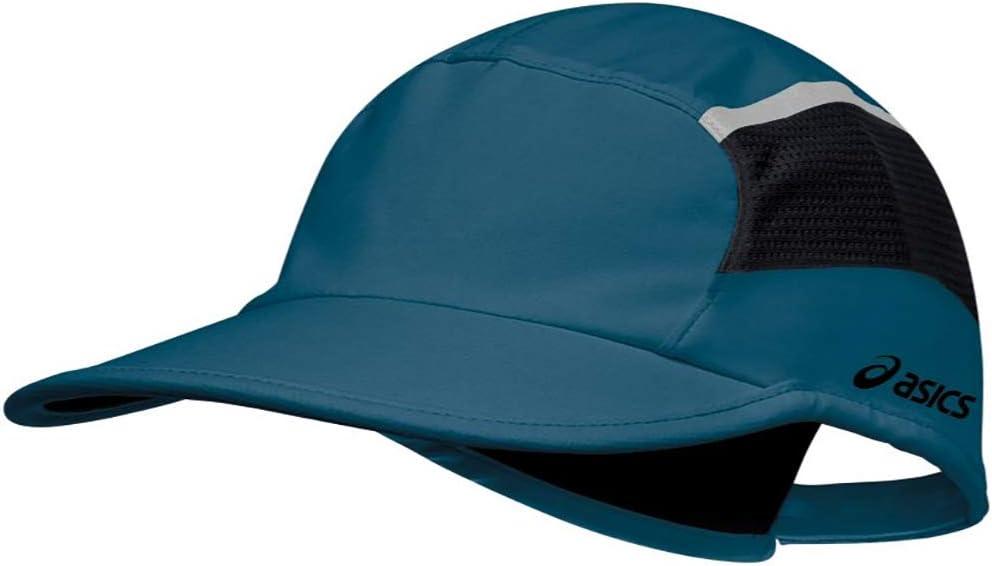 Asics Quick Lyte Running Cap - Blue: Amazon.es: Deportes y aire libre
